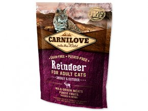 Carnilove Reindeer Adult Cats – Energy and Outdoor 400g