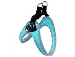 Postroj TRE PONTI reflexní do 7 kg světle modrý