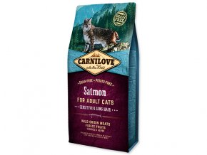Carnilove Salmon Adult Cats – Sensitive and Long Hair 6kg
