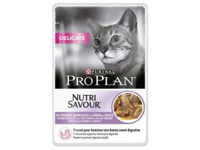 Pro Plan Cat kapsička Delicate Turkey 85 g 3+1