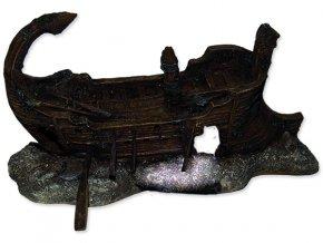 Dekorace AQUA EXCELLENT torzo lodi 29,5 x 17 x 15,5 cm