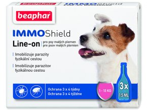 BEAPHAR Line-on IMMO Shield pro psy S 4,5ml