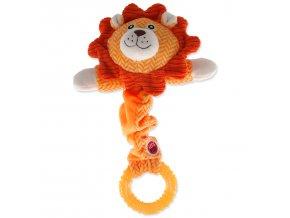 LET`S PLAY Junior lev oranžový 30 cm