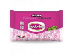 Ubrousky INODORINA Aloe Vera 40ks