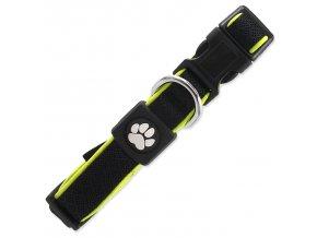 Obojek ACTIV DOG Fluffy Reflective černý S