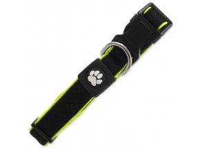 Obojek ACTIV DOG Fluffy Reflective černý M