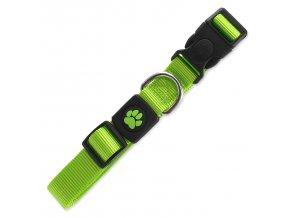 Obojek ACTIV DOG Premium limetkový L