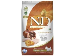 N&D Grain Free Dog Adult Mini Pumpkin Chick & Pomegranate 0,8 kg