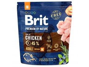 BRIT Premium by Nature Adult M 1kg