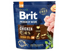 BRIT Premium by Nature Senior S+M 1kg