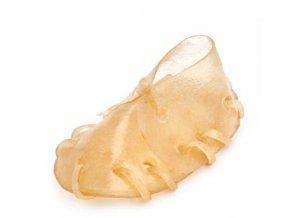 Bota z kůže přírodní