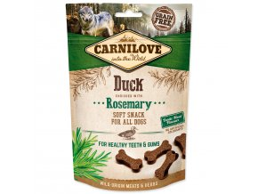 CARNILOVE Dog Semi Moist Snack Duck enriched with Rosemary 200g