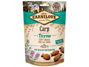 CARNILOVE Dog Semi Moist Snack Carp enriched with Thyme 200g