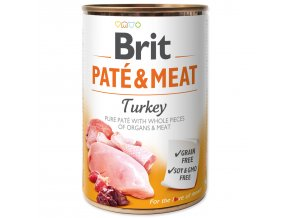 BRIT Paté & Meat Turkey 400g