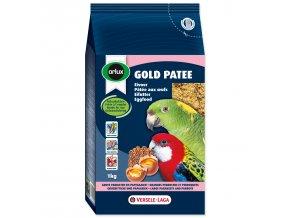 VERSELE-LAGA vaječné krmivo Gold Patee pro střední a velké papoušky 1kg
