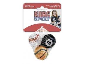 Hračka tenis Sport Míč Kong 3 ks extra small mix