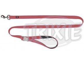 Neonové vodítko se svítící karabinou S-L 1,2-1,8m/25mm růžové