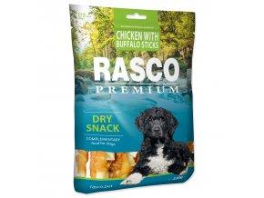 Pochoutka RASCO Premium tyčinky bůvolí obalené kuřecím masem 230g