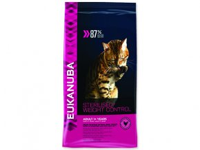 EUKANUBA Cat Adult Sterilised / Weight Control 3 kg