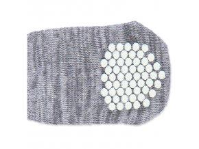Ponožky TRIXIE protiskluzové šedé M-L 2ks