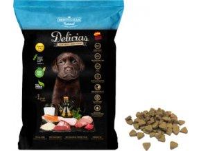 Delicias Puppy 800g-poloměkké krmivo