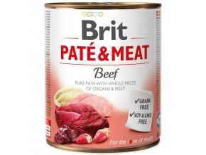 Konzerva BRIT Paté & Meat Beef 800g