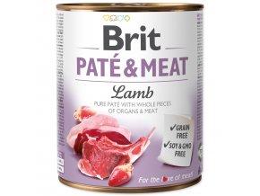 Konzerva BRIT Paté & Meat Lamb 800g