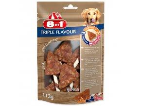 Křidýlko žvýkací 8in1 Triple Flavour 6ks