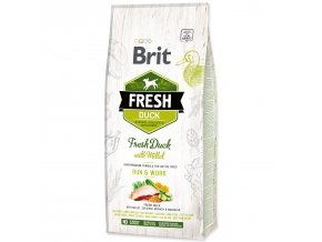 BRIT Fresh Duck with Millet Active Run & Work 12kg