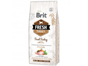 BRIT Fresh Turkey with Pea Light Fit & Slim 12kg
