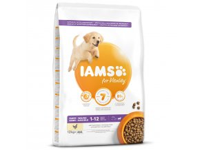 IAMS Dog Puppy Large Chicken 12kg
