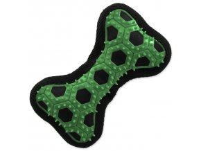 Hračka DOG FANTASY Hextex kost zelená 14,5 cm