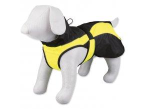 Bunda TRIXIE Safety Coat black / yellow M-L