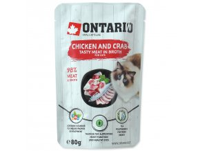 Ontario kapsičky pro kočky
