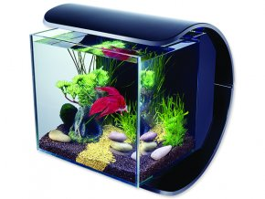 Akvárium set TETRA Silhouette LED černé 12l