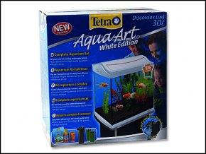 Akvárium set TETRA AquaArt bílé 30l