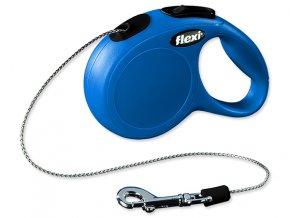 Vodítko FLEXI Classic New lanko modré XS 3 m 8 kg