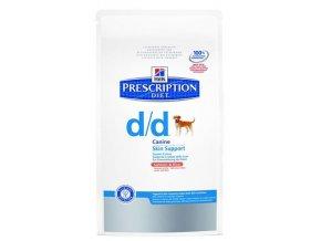 Hill's Canine D/D Dry - Salmon+Rice (Hm 12 kg)