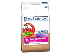 EXCLUSION Large Adult Lamb 12,5 KG