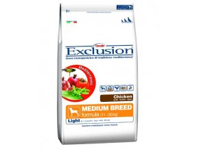 Exclusion Medium Light Chicken 12,5 KG