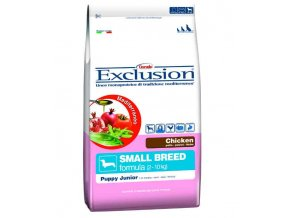 Exclusion Small Puppy Chicken 10 kg