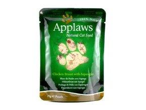Applaws kapsička Cat 70g kuřecí prsa a chřest