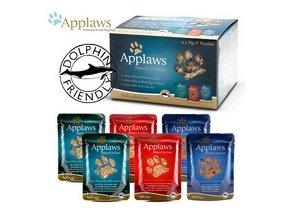 Applaws kapsička Cat 6 x 70g MultiFish - Rybí výběr