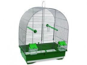 Klec BIRD JEWEL KS8 šedá + zelená