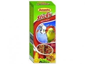 Tyčinky AVICENTRA ovocné pro andulky 2 ks