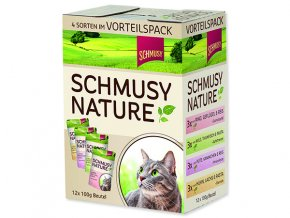 SCHMUSY Nature Kapsička ve šťávě multipack 1200 g