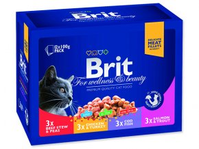 BRIT Premium cat Kapsička family plate 1200 g