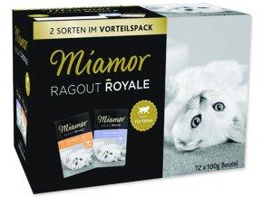 MIAMOR Kapsička Ragout royale Kitten multipack v želé 1200 g